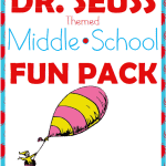 Free Dr. Seuss Fun Pack for Middle School