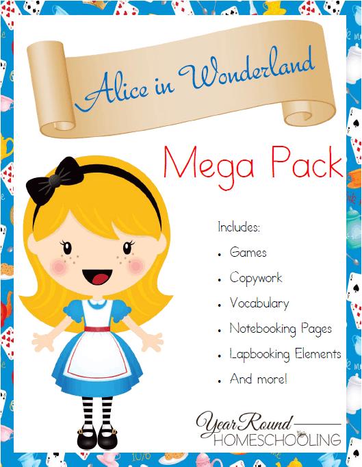 Free-Alice-in-Wonderland-Mega-Pack-By-Year-Round-Homeschooling