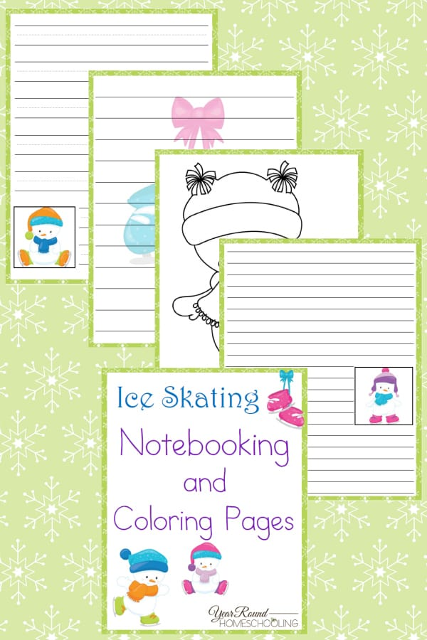Ice-Skating-Notebooking-and-Coloring-Pages-By-Year-Round-Homeschooling