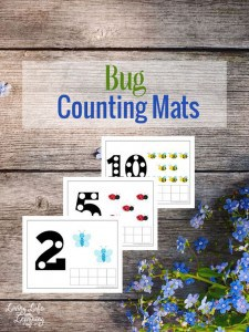 Free Bug counting mats