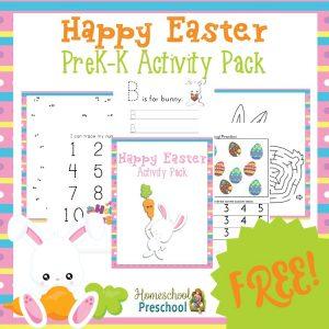 FREE Easter tot & preschool pack