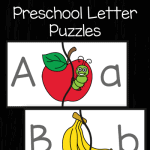 Free Preschool Letter Puzzles