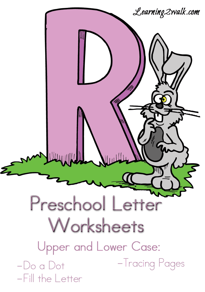 Free Preschool Letter r worksheets - Homeschool Printables for Free