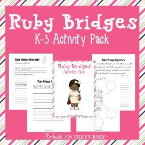Ruby Bridges Activity Pack for K-3