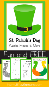 St. Patrick's Day Puzzles and More