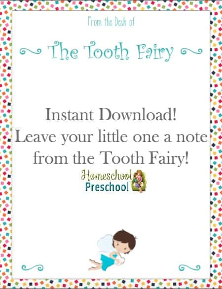 photograph about Tooth Fairy Letter Printable named Free of charge \