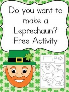 Build a Leprechaun craft for kids