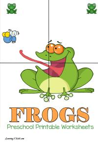 Free Frogs Preschool Printable Worksheets