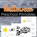 Halloween Preschool Printables