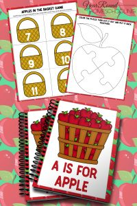 A is for Apple Fall Tot and PreK Pack