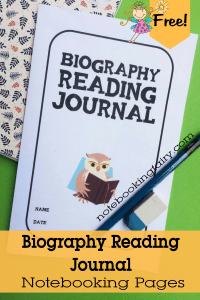 Biography Reading Journal