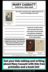Talking and Writing about Art- the Mary Cassatt Edition