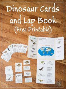 Free Dinosaur Lapbook