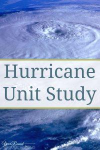Hurricane Unit Study