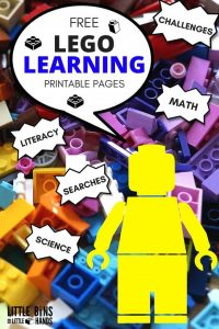 LEGO Learning Printable