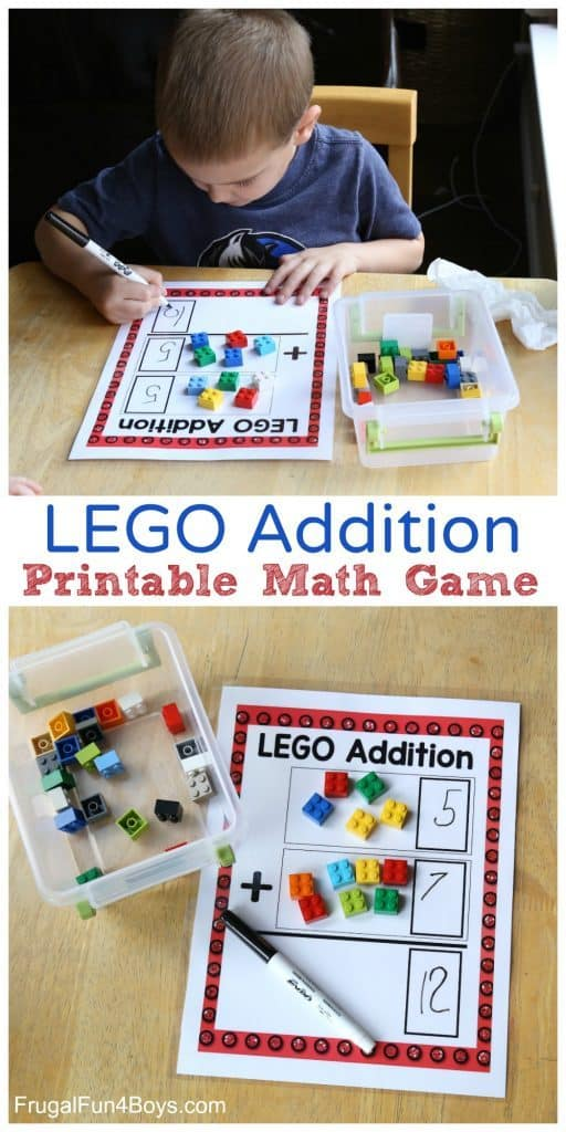 Learning addition can be hard for young minds to wrap around. However, with these LEGO mats, it just got a little easier.