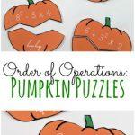 Order of Operations Pumpkins