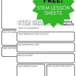 STEM Challenge Worksheets