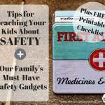 Teaching Kids About Safety FREE Checklist