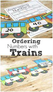 Train Number Ordering Set
