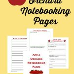 Apple Orchard Notebooking Pages