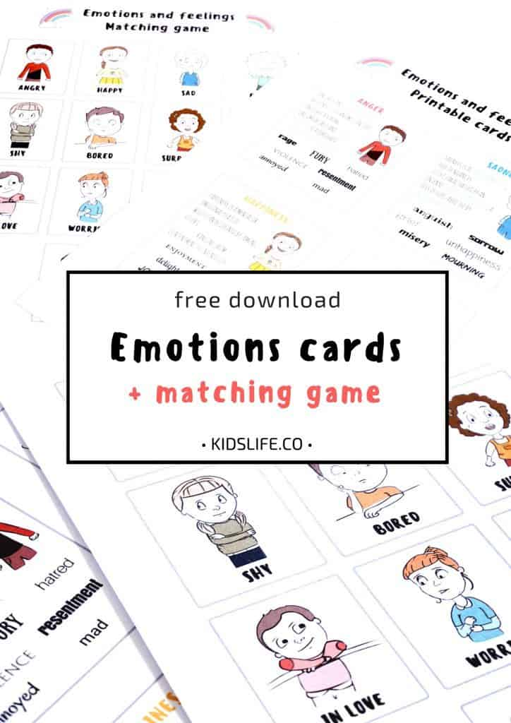 graphic about Feelings Cards Printable identify Locate Your Thoughts Playing cards - Homeschool Printables for Cost-free