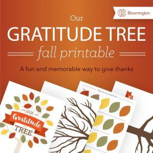 The Gratitude Tree – Limited Time Freebie
