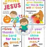 Thanksgiving Bible Printables & Crafts