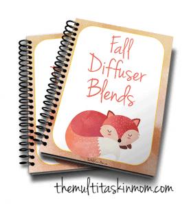 Fall Diffuser Blend Recipe Book