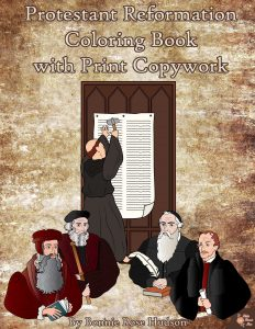 Protestant Reformation Coloring Book