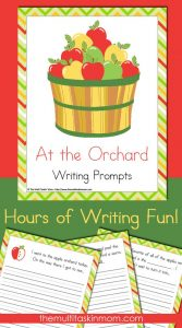 At the Orchard Writing Prompts Pack