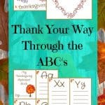 Thank Your Way through the ABC's