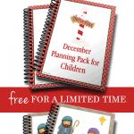 Free December Planning Pack for Children