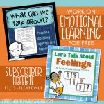 Emotional Learning Bundle