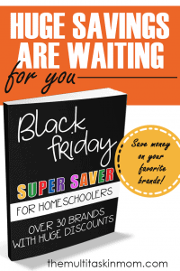 HUGE Black Friday Savings for Homeschoolers