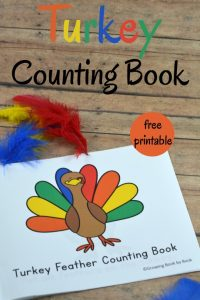 Turkey Counting Book
