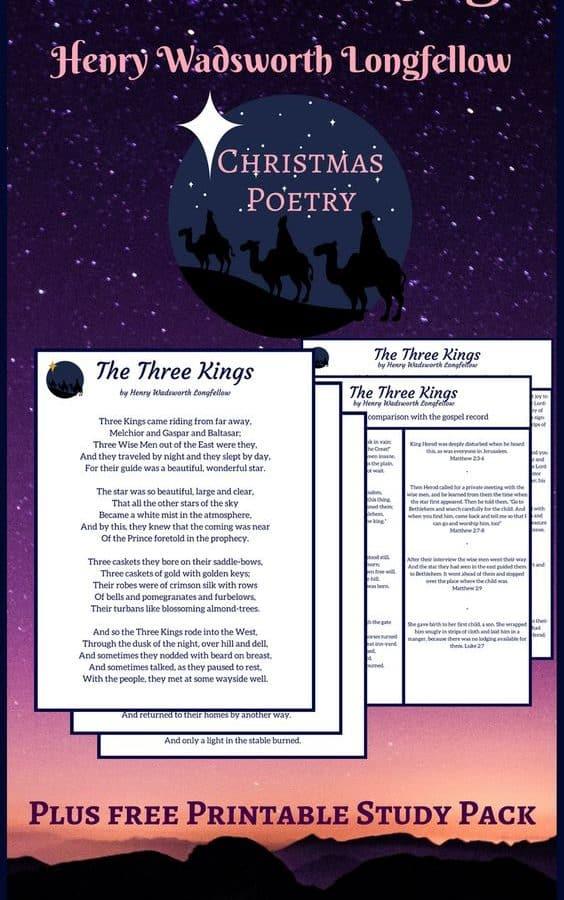 Christmas Poetry -The Three Kings