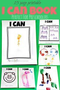 """Preschool Skills """"I Can"""" Book"""