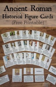 Historical Figure Cards for Ancient Rome