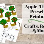 Apple Theme Unit Printables