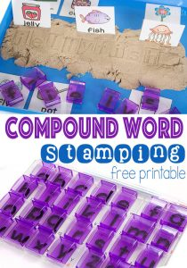Compound Words Stamping Activity