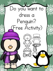 Dress a Penguin Activity