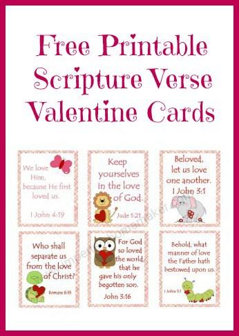 Free Scripture Valentine Cards