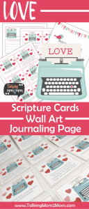 Sharing God's Love Scripture Cards