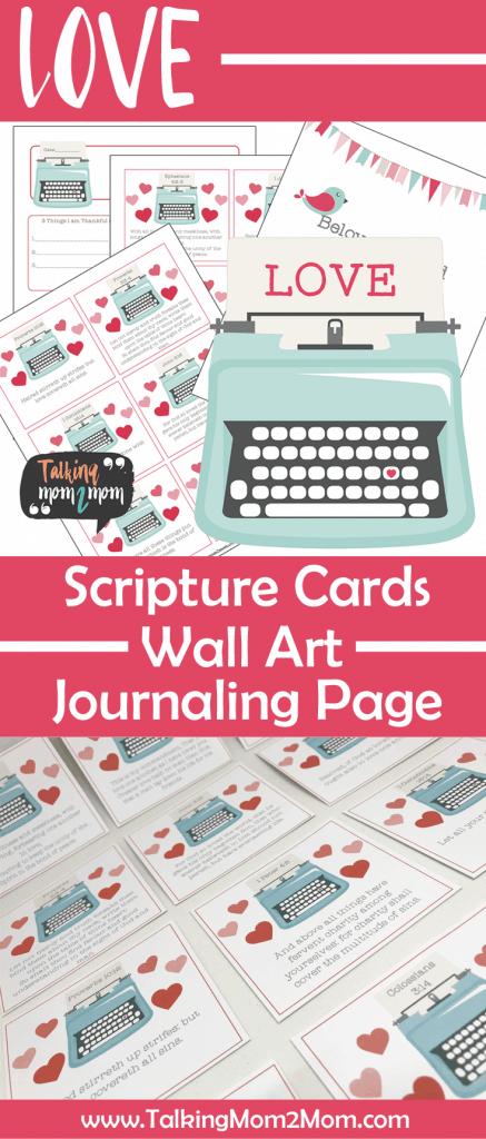 God's Love Scripture Cards