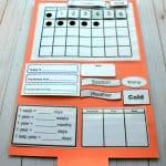 File Folder Preschool Calendar