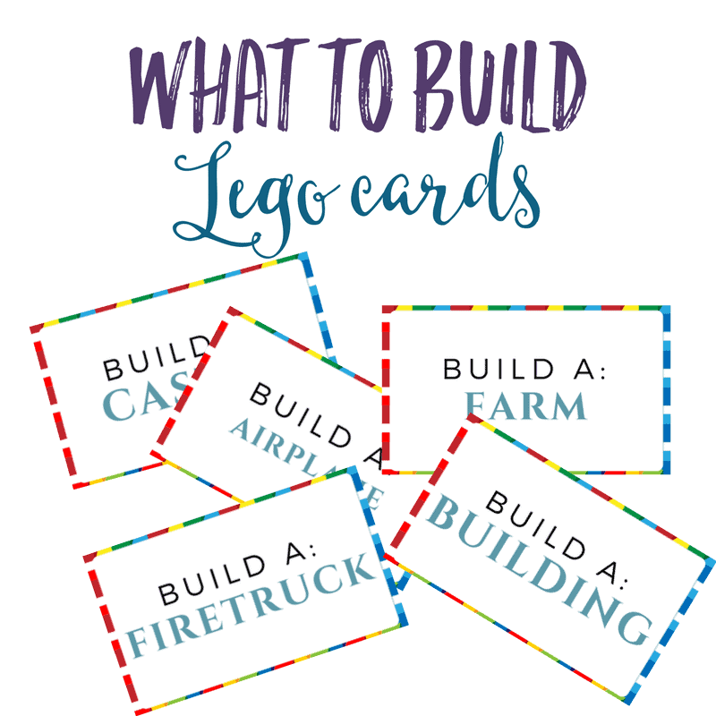 LEGO What to Build Cards