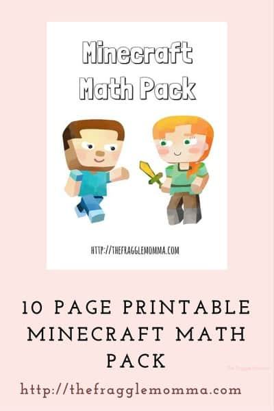 Minecraft Math Pack