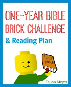 Bible Brick Challenge Calendar