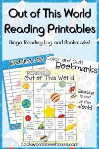 Free Reading Bingo and Bookmarks